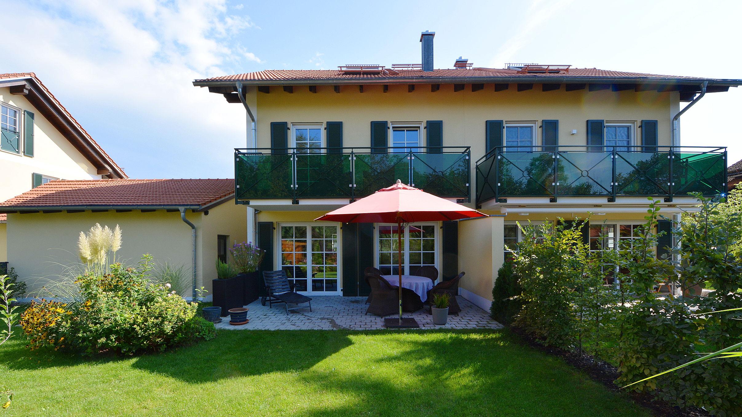 Lorenz immobilien m nchen - Gartengestaltung doppelhaushalfte bilder ...